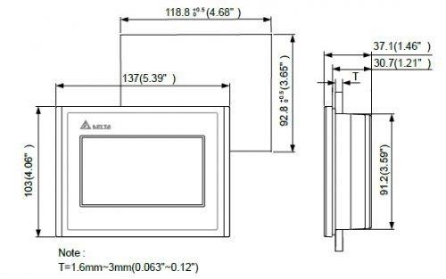 103BQ-DOP-100-HMI-Touchscreen-Delta-AC-Drive-Diagram