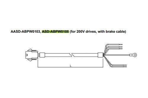 ASD-ABPW0105-AC-Servo-Accessories-Delta-AC-Drive-Diagram