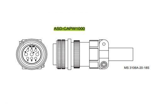 ASD-CAPW1000--AC-Servo-Accessories-Delta-AC-Drive-Diagram