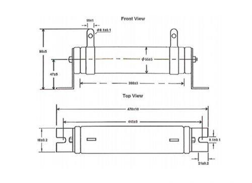 BR1K0W4P3-Braking-Resistor-Delta-AC-Drive-Diagram