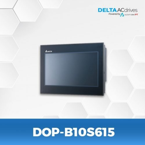 DOP-B10S615-DOP-B-Series-HMI-Touchscreen-Delta-AC-Drive-Side