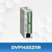 DVP14SS211R-DVP-SA-Series-PLC-Delta-AC-Drives-Front