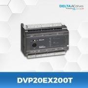 DVP20EX200T-DVP-ES-Series-PLC-Delta-AC-Drive-Side