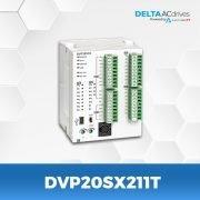 DVP20SX211T-DVP-ES-Series-PLC-Delta-AC-Drive-Front