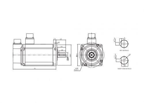 ECMA-C11020RS-A2-Servo-Motor-Delta-AC-Drive-Diagram