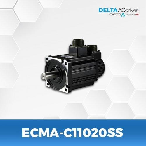 ECMA-C11020SS-A2-Servo-Motor-Delta-AC-Drive-Front