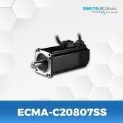 ECMA-C20807SS-B2-Servo-Motor-Delta-AC-Drive-Front
