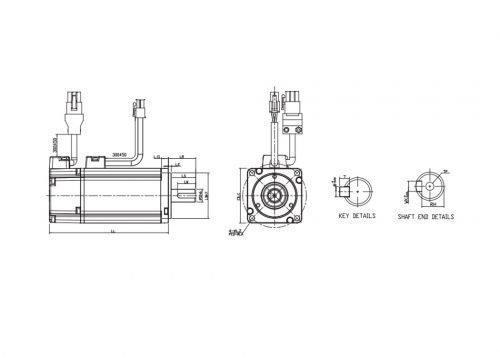 ECMA-CA0604SS-A2-Servo-Motor-Delta-AC-Drive-Diagram