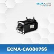 ECMA-CA0807SS-A2-Servo-Motor-Delta-AC-Drive-Front