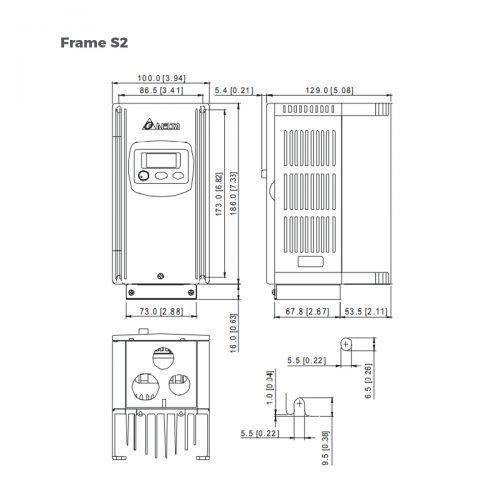 VFD004S23B-VFD-S-Delta-AC-Drive-Diagram