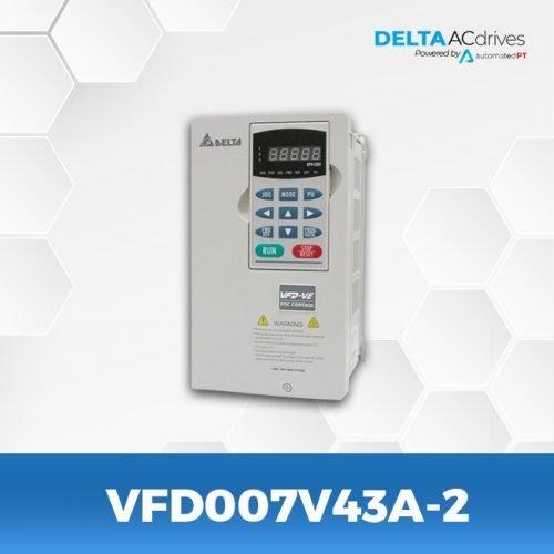 VFD007V43A-2-VFD-VE-Delta-AC-Drive-Front