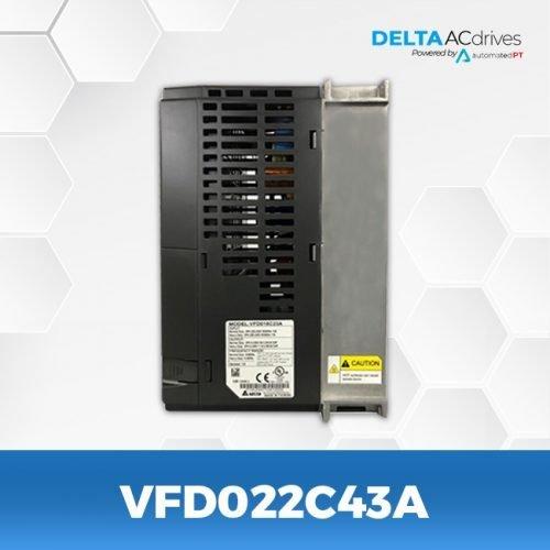 VFD022C43A-VFD-C2000-Delta-AC-Drive-Side