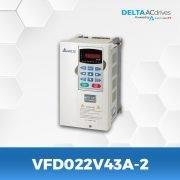 VFD022V43A-2-VFD-VE-Delta-AC-Drive-Side