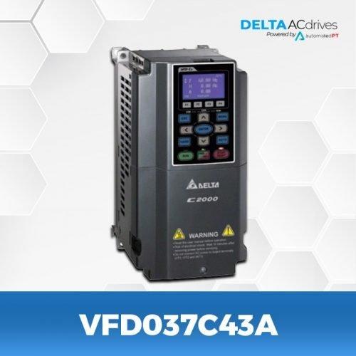 VFD037C43A-VFD-C2000-Delta-AC-Drive-Left