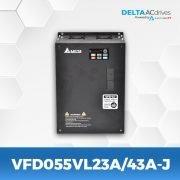 VFD055VL23A-43A-J-VFD-VJ-Delta-AC-Drive-Front