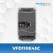 VFD110E43C-VFD-E-Delta-AC-Drive-Front