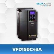 VFD150C43A-VFD-C2000-Delta-AC-Drive-Left