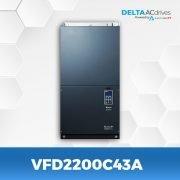 VFD2200C43A-VFD-C2000-Delta-AC-Drive-Front