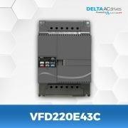 VFD220E43C-VFD-E-Delta-AC-Drive-Front