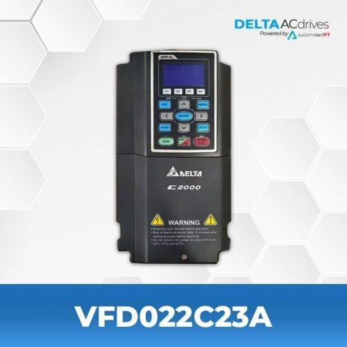 vfd022c23a-VFD-C2000-Delta-AC-Drive-Front