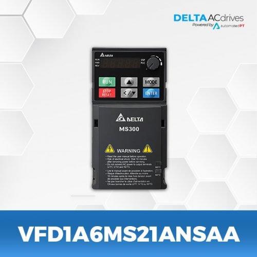 vfd1a6ms21ansaa-VFD-MS-300-Delta-AC-Drive-Front