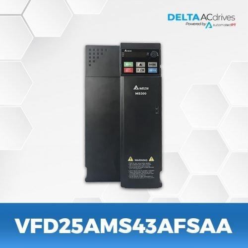 vfd25ams43afsaa--VFD-MS-300-Delta-AC-Drive-Front