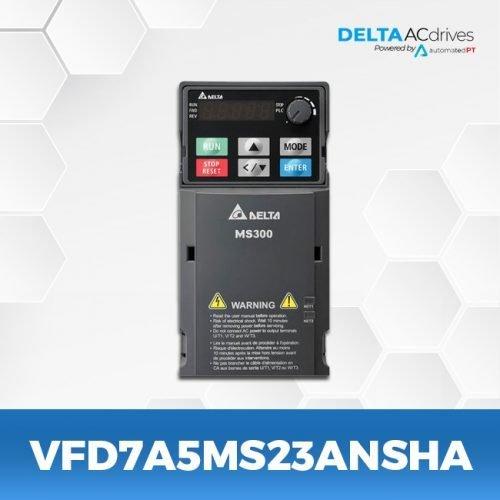 vfd7A5ms23ansha-VFD-MS-300-Delta-AC-Drive-Front